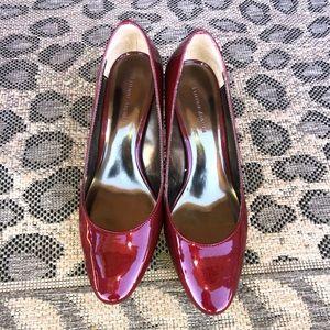 Etienne Aigner ruby red high heels, 8 1/2 M